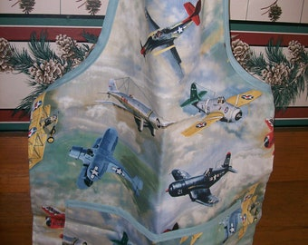Airplane Childs Full Apron