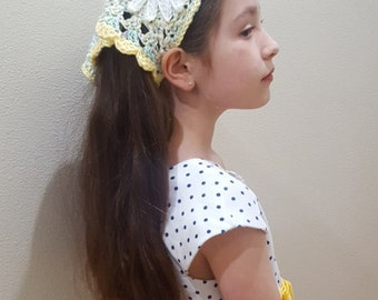 Girl's Cotton Hair Kerchief