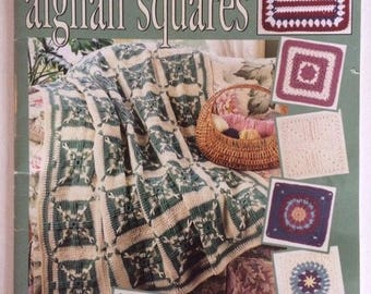 Contest Favorites Afghan Squares - Crochet 1997 Leisure Arts