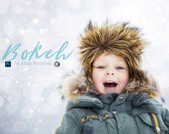 Bokeh Overlays & Sparkle 25 Overlays for Photoshop Professional Photo Editing for Portraits, Newborns, Weddings By LouMarksPhoto