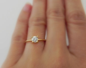 rings etsy solitaire cubic il zirconia engagement cz ring diamond fake market gold white