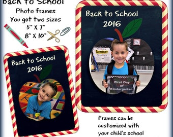 Back to School Photo Frames