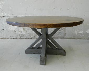 """Rustic Dining Table - """"Annapolis"""" Rustic Pine Dining Table"""