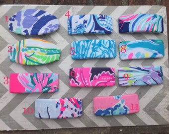 Lilly Inspired French Barrettes