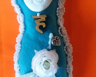 Throat Chakra Vishuda Medicine Doll