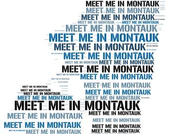 Eternal Sunshine of the Spotless Mind Pop Art Print - Meet me in Montauk