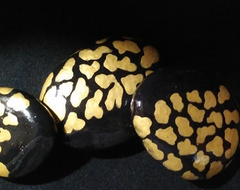 Black and Gold Trio