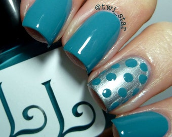 Teal We Meet Again by Lucky Lacquer, 5-Toxin Free Nail Polish