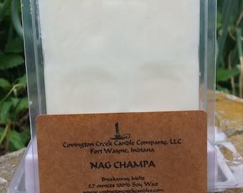 Nag Champa 5.7 ounce Soy Breakaway Melt