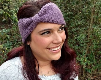 Knit Earwarmer | Tunisian Crochet Headband