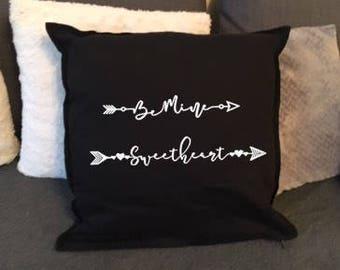 Be Mine Sweetheart cushion cover