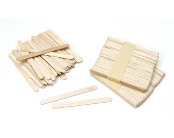 Wood Craft Sticks - Natural - 150 pcs, 4.5in. Long (dar915081)