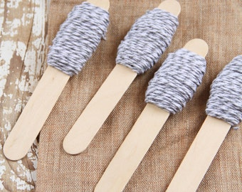 Bakers twine bianco e grigio 9m / 9m of Grey and White Bakers Twine