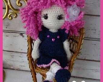Crochet Amigurumi doll, Miss Sonia