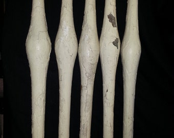 Porch Spindles from 110 year old house in Springfield, Mo (lot of 5)