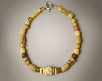 Beads from India and Africa Necklace
