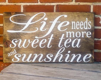Front Porch Decor, Painted Wood Sign, Summer Porch Decor Southern, Summer Porch Sign, Sign for Porch, Sign for Patio, Summer Mantel Decor