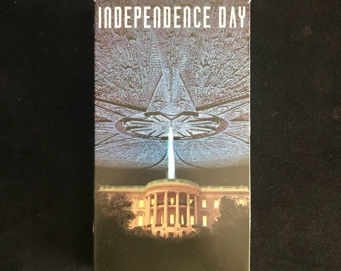 INDEPENDENCE DAY 1990's Vintage Movie VHS