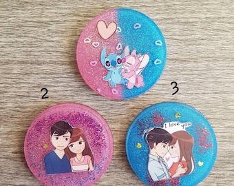 Key ring or Valentine's Day gift Magnet