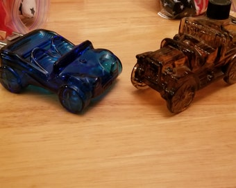 Vintage Avon Aftershave Car Bottles