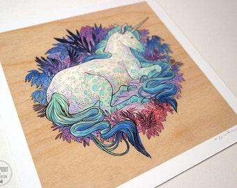 Unicorn - Fine Art Print by Nicole Gustafsson