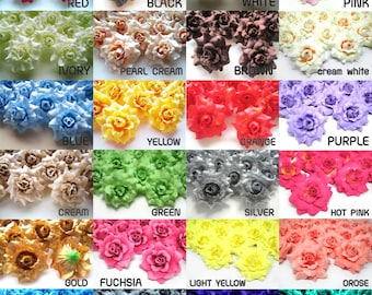 Mini rose buds etsy 100 mini silk roses heads single tone artificial silk flower 175 inches wholesale mightylinksfo Image collections