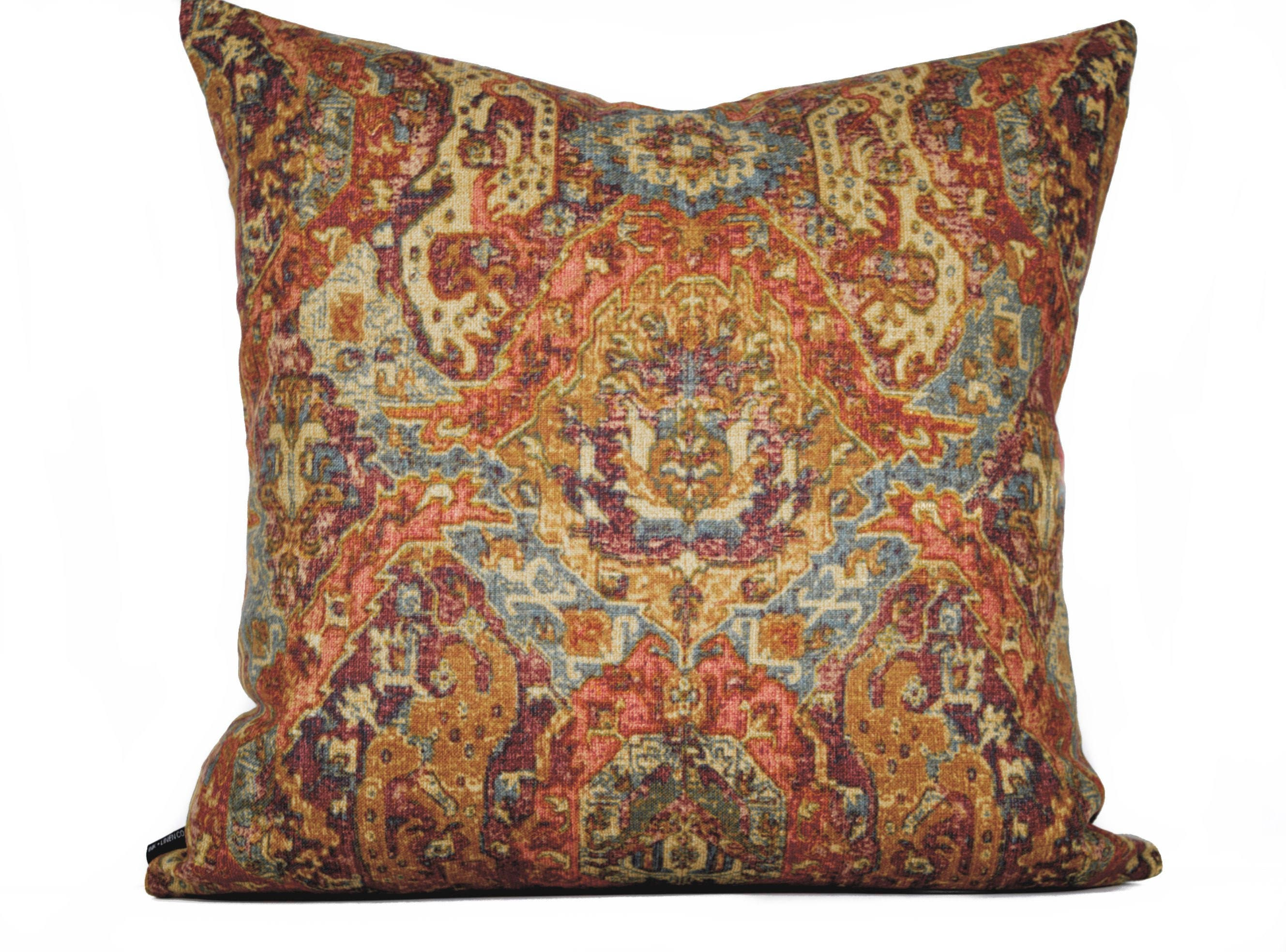 floral fidelio black made linen fabric swavelle mill products limited decorative jewel creek custom only tone cliffside edition cover pillows pillow at