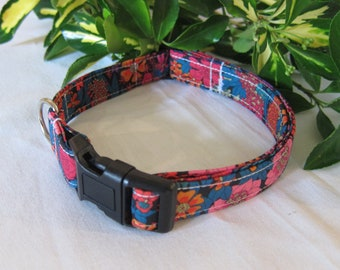 Liberty of London fabric dog collar