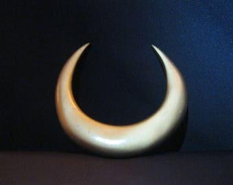 Queen Serenity crescent moon brooch