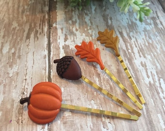 Fall Leaves Paperclip Set