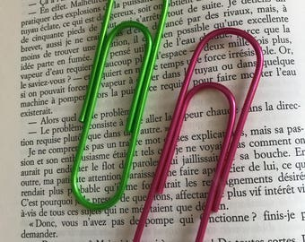 1 - Set giant paperclips