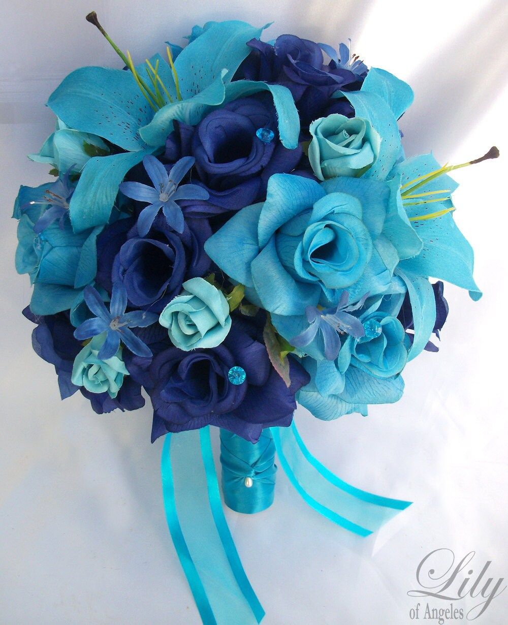 Wedding bouquet bridal bouquet bridesmaid bouquet silk zoom izmirmasajfo Gallery