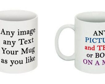 Custom Personalized Mugs