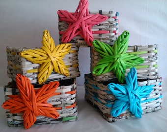 Multi-purpose, ecological and highly decorative baskets