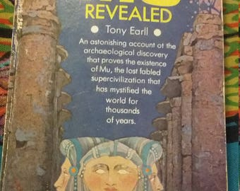 Mu Revealed by Tony Earll. First Printing September 1970.