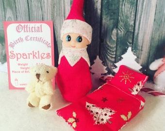 Baby Elf Sparkles Doll The Shelf Sitter