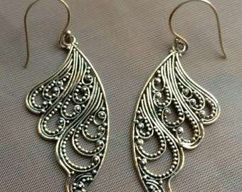 Balinese Handmade 925 Sterling Silver Earrings