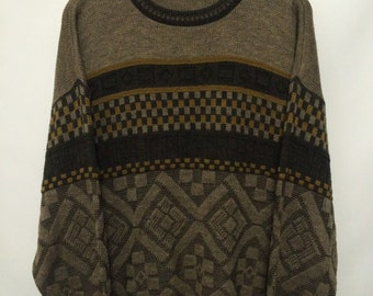 Vintage Pattern Jumper