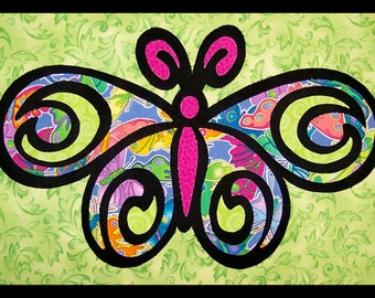 Flutterby by Another by Anita - Applique Quilt Pattern