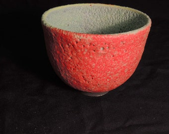 Bright Crater Glaze Bowl