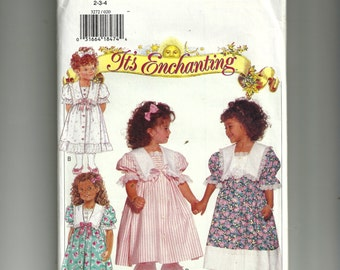Butterick  Children's Dress and Pantaloons Pattern 3272