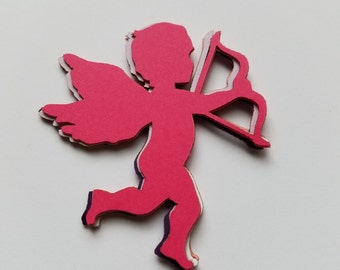 Cupid Valentines Day Scrap Booking Die Cut Outs ( Embellishments, Decoupage, etc...)