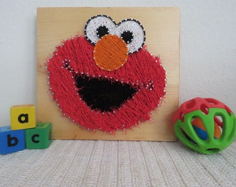 Sesame street art | Etsy