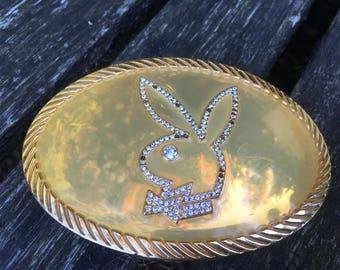 Vintage Playboy Bunny Belt Buckle