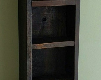 Decorative Shelves made from Rustic Reclaimed and Repurposed Pallet Wood