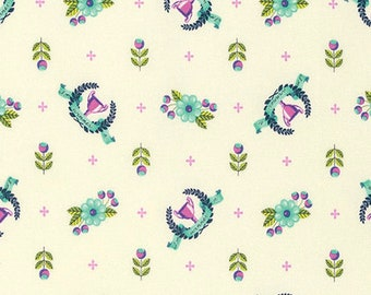 1/2 Yard - Slow & Steady - Winner's Circle - Blue Raspberry - Tula Pink - FreeSpirit - Fabric Yardage - PWTP089.BLUER