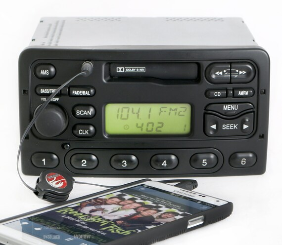 2000 To 2004 Ford Focus Am Fm Cassette Radio W Aux Input Csrhetsy: 2004 Ford Ranger Radio With Aux At Gmaili.net