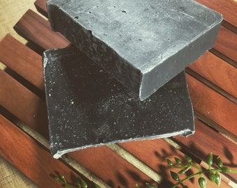 Activated Charcoal Bar Soap (lavender, tea tree)
