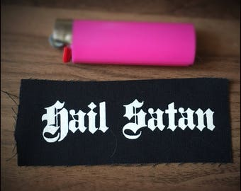 Hail satan patch