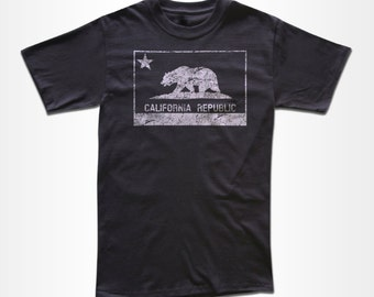 California Republic T Shirt - Graphic Tees for Men, Women & Children - Short Sleeve and Long Sleeve Available